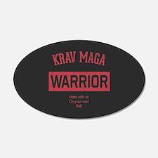 Krav Maga Warrior Wall Decal