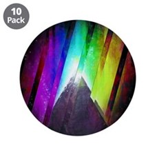 """The Cosmic Pyramid 3.5"""" Button (10 pack)"""