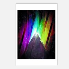 The Cosmic Pyramid Postcards (Package of 8)