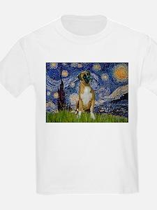 Starry Night & Boxer T-Shirt