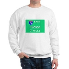 Tuscon AZ, Interstate 10 East Sweatshirt