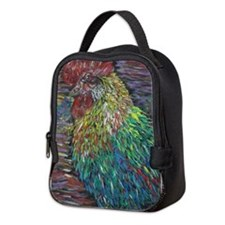 Cockerel Neoprene Lunch Bag