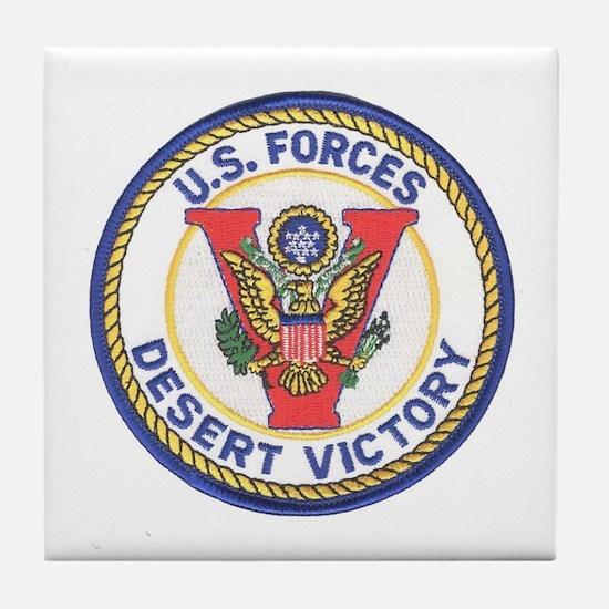 Desert Victory Tile Coaster