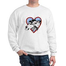 Harlequin Heart Sweatshirt