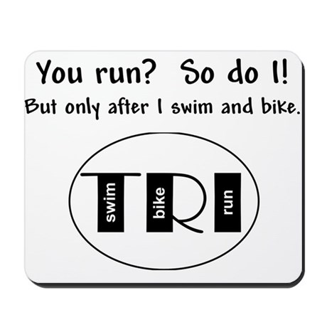 You run? Mousepad