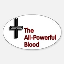 All-Powerful Blood Cross Decal