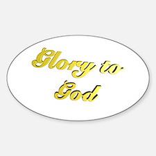Glory to God Decal