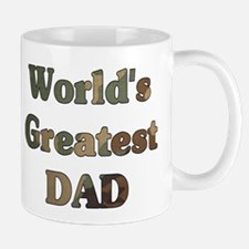 Worlds greatest Dad - Army Camo - Mug