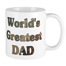 Worlds greatest Dad - Army Camo - Small Mug