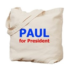 PAUL for President Tote Bag