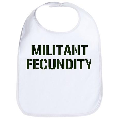 MILITANT FECUNDITY Bib