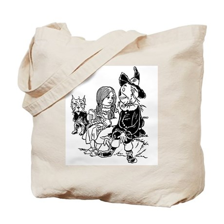 Dorothy & Scarecrow Tote Bag