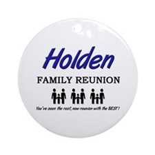 Holden Family Reunion Ornament (Round)