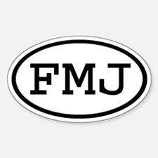 FMJ Oval Oval Decal