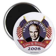 "In Fred We Trust 2.25"" Magnet (100 pack)"