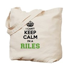 Unique Riles Tote Bag