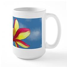 Large Plumeria Mug
