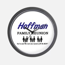 Hoffman Family Reunion Wall Clock