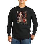 Accolade/Bull Terrier 1 Long Sleeve Dark T-Shirt