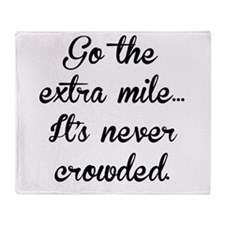 The Extra Mile Throw Blanket