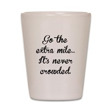 The Extra Mile Shot Glass