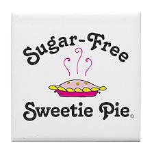 Sugar-Free Sweetie Pie Tile Coaster