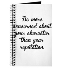 Character And Reputation Journal