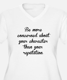 Character And Reputation Plus Size T-Shirt