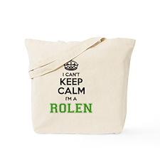 Cute Rolen Tote Bag