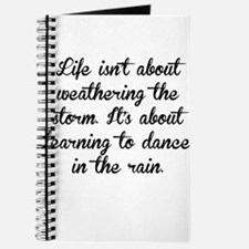 Learning To Dance In The Rain Journal