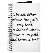 Do Not Follow Journal