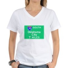 Oklahoma City OK, Interstate 35 South Shirt