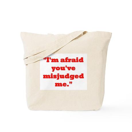 MISJUDGED ME? Tote Bag