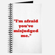 MISJUDGED ME? Journal