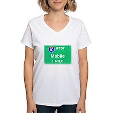 Mobile AL, Interstate 10 West Shirt