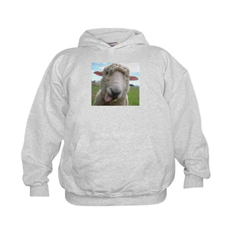 Silly sheepster kids hoodie