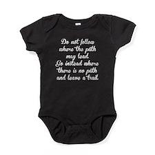 Do Not Follow Baby Bodysuit