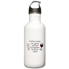 Coffee to Wine Water Bottle