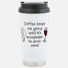 Coffee to Wine Travel Mug