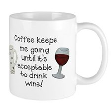 Coffee to Wine Mugs