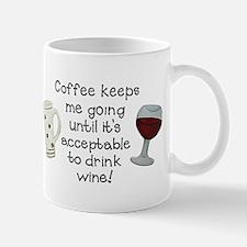 Coffee to Wine Mugs
