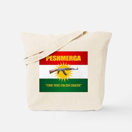 Peshmerga Tote Bag
