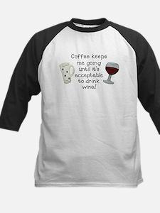 Coffee to Wine Baseball Jersey
