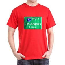 Los Angeles CA, Interstate 5 South T-Shirt