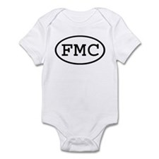 FMC Oval Infant Bodysuit