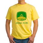 John 3:16 Yellow T-Shirt