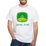John 3:16 White T-Shirt