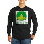 John 3:16 Long Sleeve Dark T-Shirt