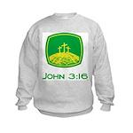 John 3:16 Kids Sweatshirt