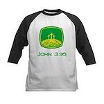 John 3:16 Kids Baseball Jersey